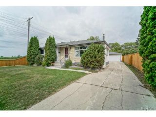 Photo 1: 1455 Somerville Avenue in WINNIPEG: Manitoba Other Residential for sale : MLS®# 1419393