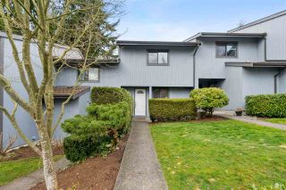 """Photo 1: 887 CUNNINGHAM Lane in Port Moody: North Shore Pt Moody Townhouse for sale in """"WOODSIDE VILLAGE"""" : MLS®# R2555689"""