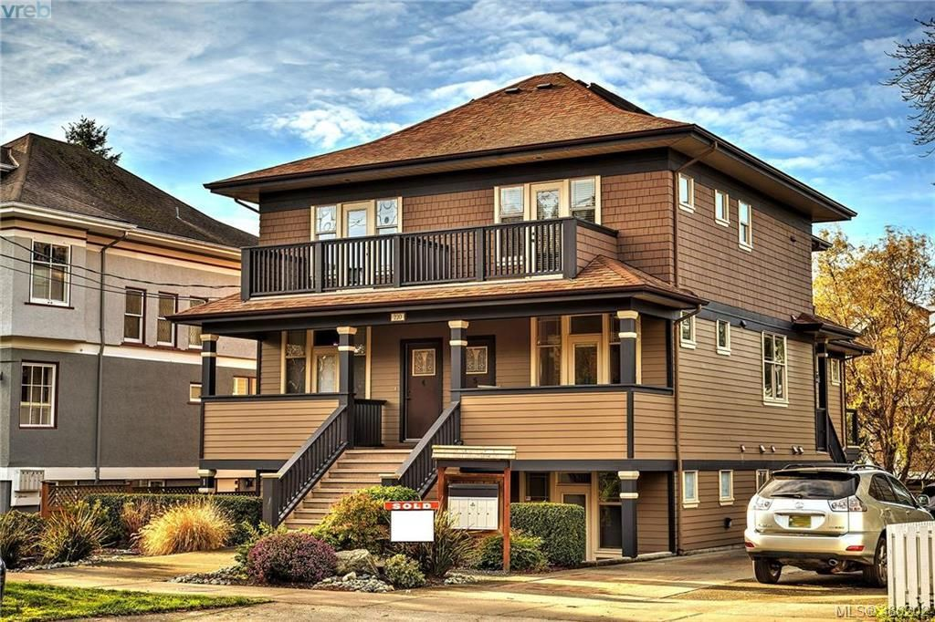 Main Photo: 1 220 Moss St in VICTORIA: Vi Fairfield West Row/Townhouse for sale (Victoria)  : MLS®# 776073