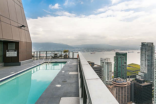 Photo 11: 4404-1189 Melville St in Vancouver: Condo for sale : MLS®# V1143581
