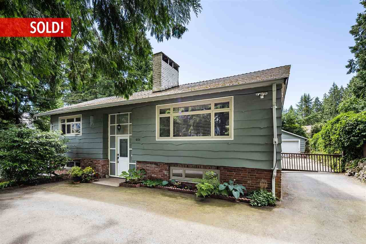 Main Photo: 651 E ST. JAMES Road in North Vancouver: Princess Park House for sale : MLS®# R2303848