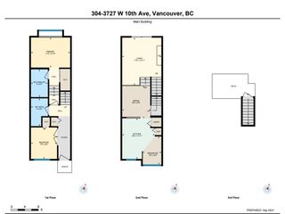 """Photo 24: 304 3727 W 10TH Avenue in Vancouver: Point Grey Townhouse for sale in """"FOLKSTONE"""" (Vancouver West)  : MLS®# R2617811"""