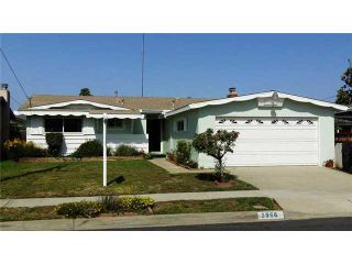 Photo 1: CLAIREMONT House for sale : 3 bedrooms : 3966 Anastasia Street in San Diego
