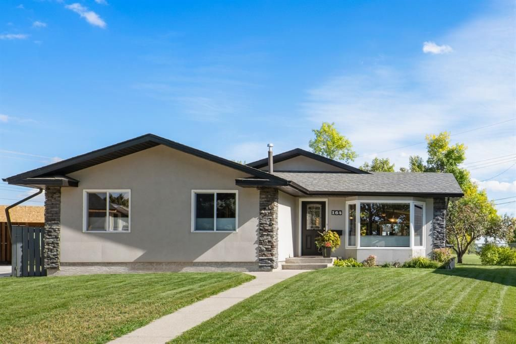 Beautifully designed and substantially renovated home with 2031 sq. ft. on the main floor.