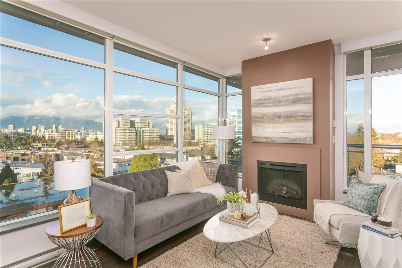 """Main Photo: 703 1088 W 14TH Avenue in Vancouver: Fairview VW Condo for sale in """"COCO"""" (Vancouver West)  : MLS®# R2244610"""