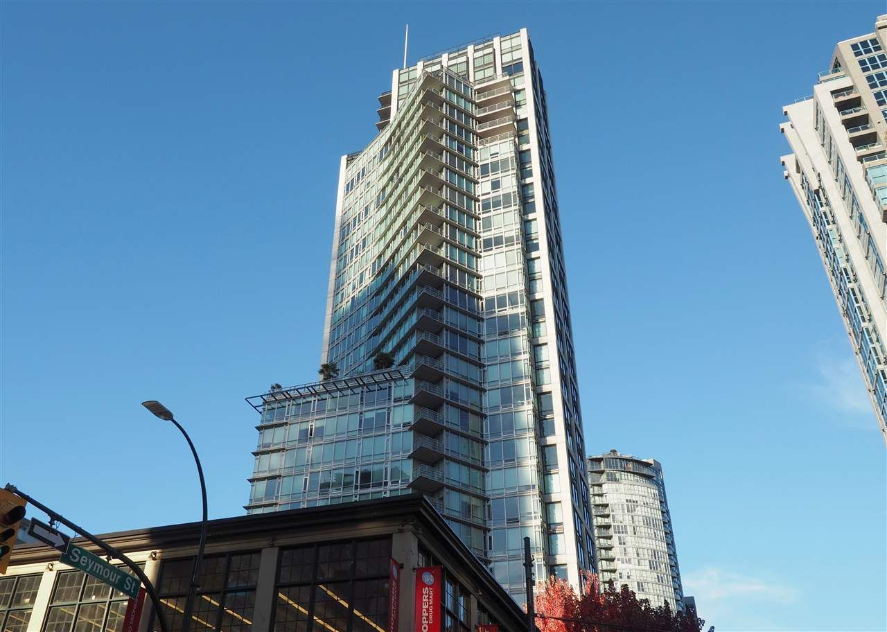 Main Photo: 601 1255 SEYMOUR STREET in : Downtown VW Condo for sale : MLS®# R2314504