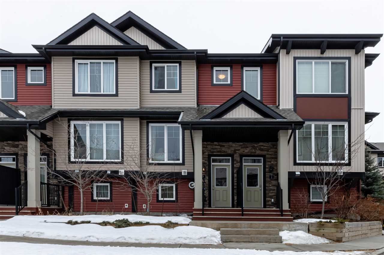 Main Photo: 2 1776 CUNNINGHAM Way in Edmonton: Zone 55 Townhouse for sale : MLS®# E4232580
