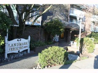 """Photo 1: 217 3875 W 4TH Avenue in Vancouver: Point Grey Condo for sale in """"LANDMARK JERICHO"""" (Vancouver West)  : MLS®# V814610"""