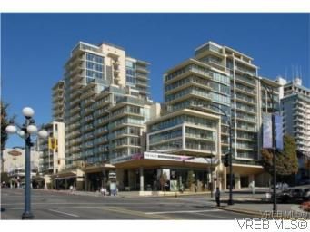 Main Photo: 1007 707 Courtney St in VICTORIA: Vi Downtown Condo for sale (Victoria)  : MLS®# 547035