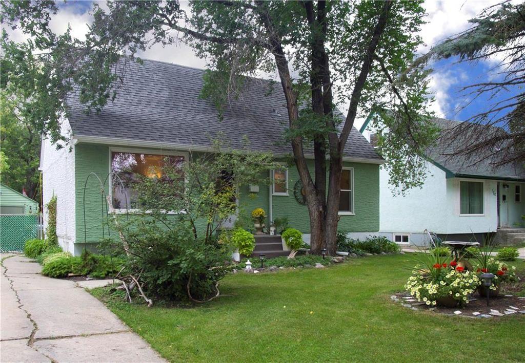 Main Photo: 376 Sharp Boulevard in Winnipeg: Deer Lodge Residential for sale (5E)  : MLS®# 202122786