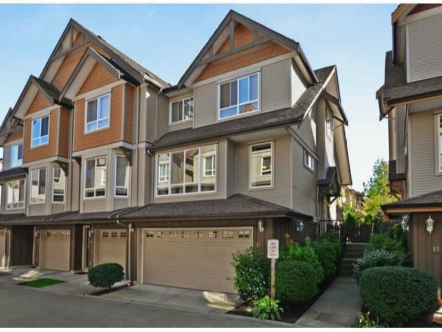 """Main Photo: 13 16772 61ST Avenue in Surrey: Cloverdale BC Townhouse for sale in """"Laredo"""" (Cloverdale)  : MLS®# F1322525"""