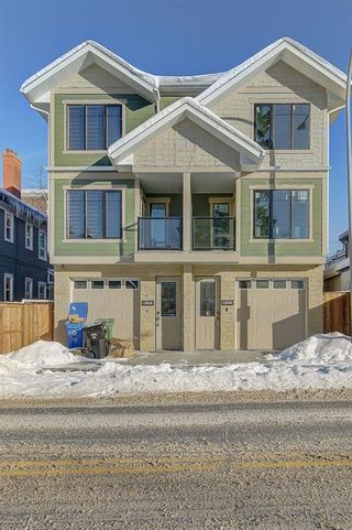 Photo 1: 1808 8 Street SW in Calgary: Lower Mount Royal Semi Detached for sale : MLS®# A1072854