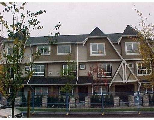 "Main Photo: 13 7333 TURNILL Street in Richmond: McLennan North Townhouse for sale in ""PALATINO"" : MLS®# V763326"