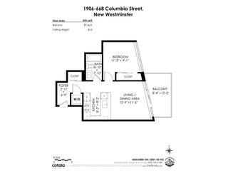 "Photo 30: 1906 668 COLUMBIA Street in New Westminster: Quay Condo for sale in ""TRAPP & HOLBROOK"" : MLS®# R2575378"
