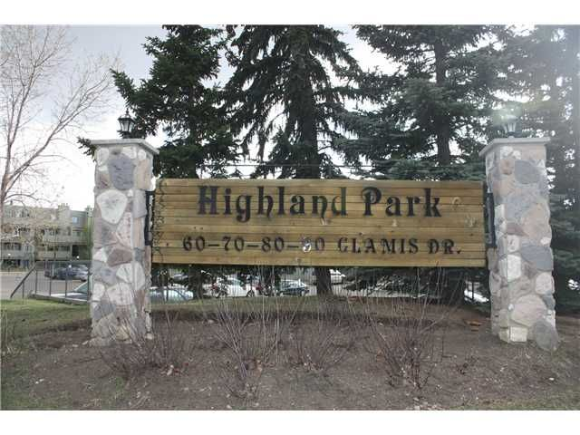 Photo 2: Photos: 3207 80 GLAMIS Drive SW in CALGARY: Glamorgan Condo for sale (Calgary)  : MLS®# C3568501