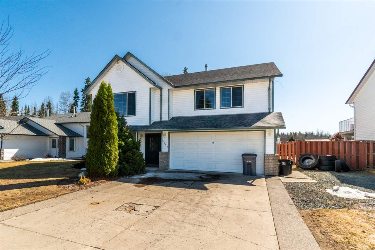 Main Photo: 5447 WOODOAK Crescent in Prince George: North Kelly House for sale (PG City North (Zone 73))  : MLS®# R2540312