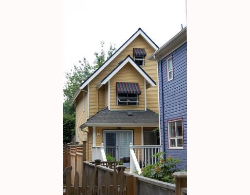 Main Photo: 14 W 13TH Avenue in Vancouver: Mount Pleasant VW 1/2 Duplex for sale (Vancouver West)  : MLS®# V771658