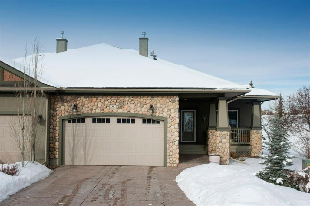 Main Photo: 31 Bent Tree Place in Rural Rocky View County: Rural Rocky View MD Semi Detached for sale : MLS®# A1071195
