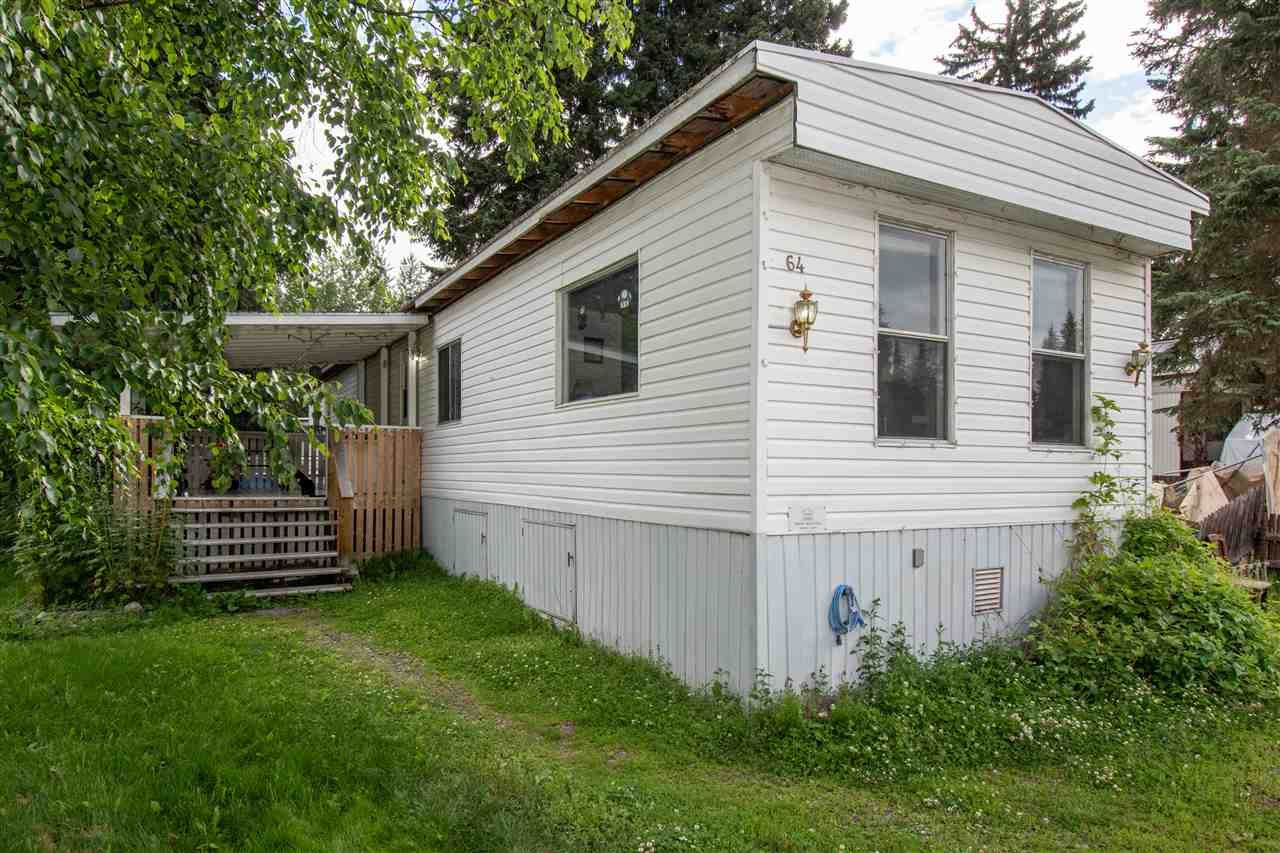 "Main Photo: 64 4430 W 16 Highway in Smithers: Smithers - Town Manufactured Home for sale in ""HUDSON BAY MOBILE HOME PARK"" (Smithers And Area (Zone 54))  : MLS®# R2475652"