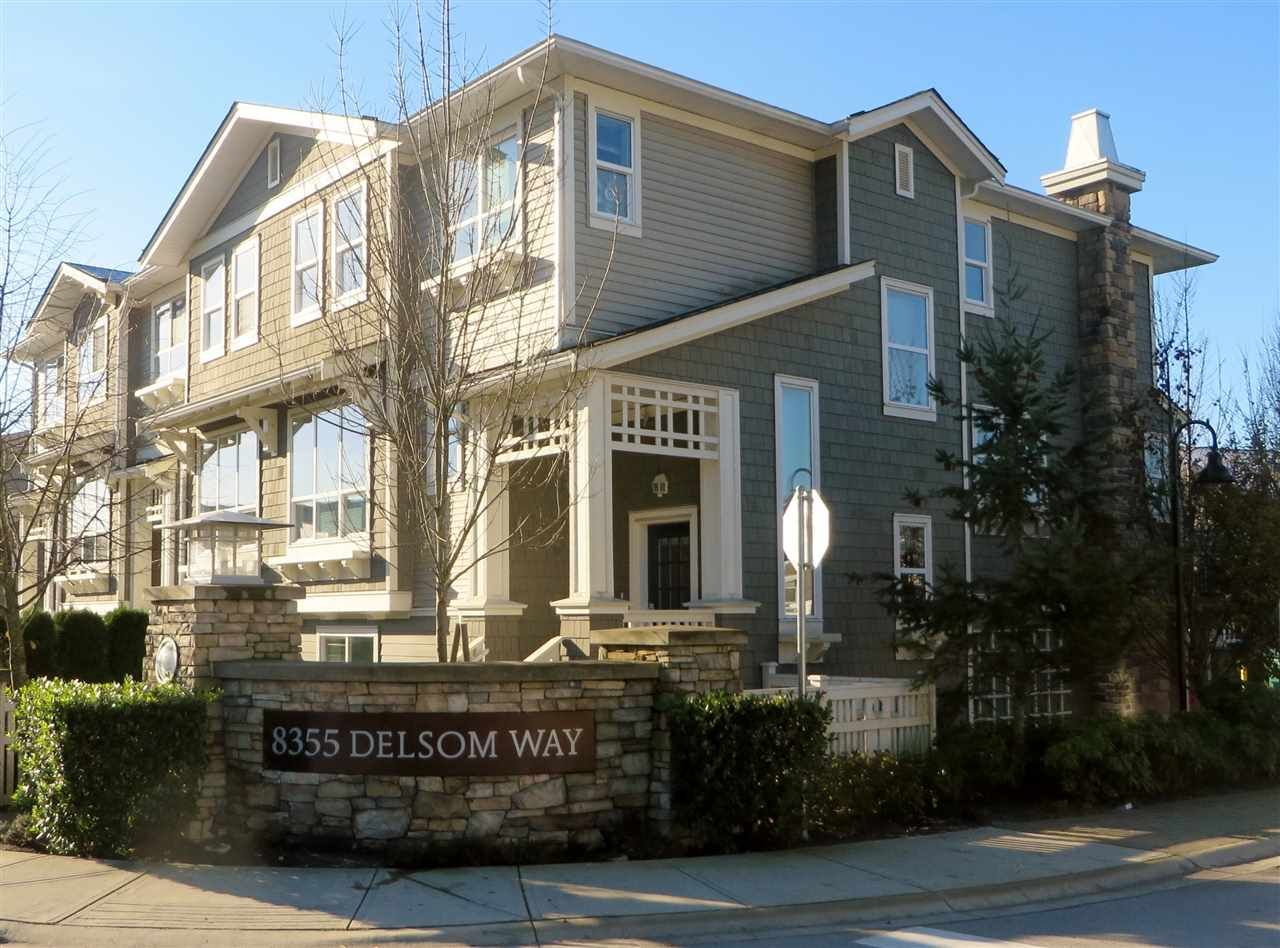 Main Photo: 91 8355 DELSOM WAY in Delta: Nordel Townhouse for sale (N. Delta)  : MLS®# R2016286