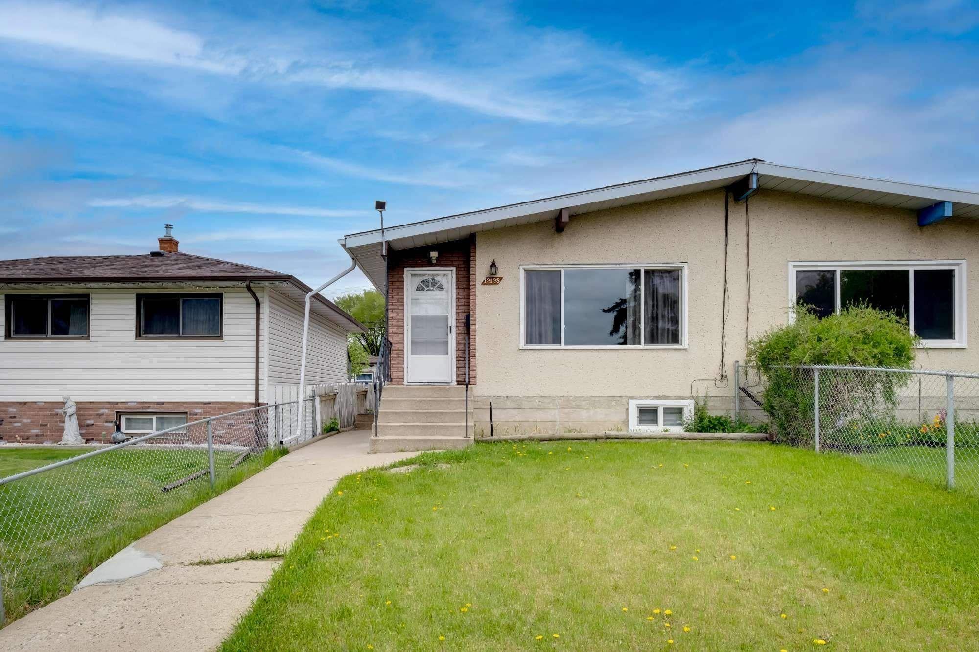 Main Photo: 12128 77 Street in Edmonton: Zone 05 House Half Duplex for sale : MLS®# E4247986