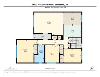 Photo 40: 14433 MCQUEEN ROAD in Edmonton: Zone 21 House Half Duplex for sale : MLS®# E4233965