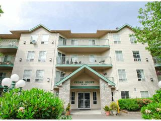 """Photo 1: 303 2435 CENTER Street in Abbotsford: Abbotsford West Condo for sale in """"Cedar Grove Place"""" : MLS®# F1412491"""