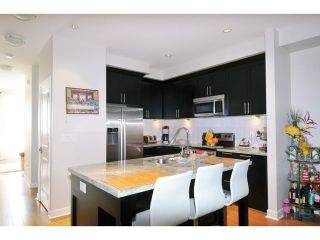 """Photo 3: 144 1460 SOUTHVIEW Street in Coquitlam: Burke Mountain Townhouse for sale in """"CEDAR CREEK"""" : MLS®# V1049640"""