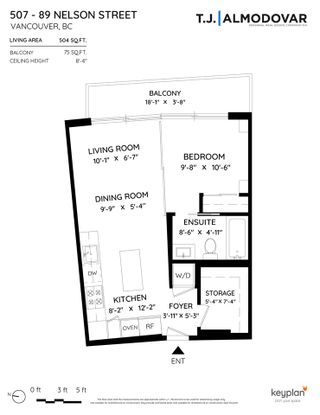 """Photo 17: 507 89 NELSON Street in Vancouver: Yaletown Condo for sale in """"The Arc"""" (Vancouver West)  : MLS®# R2579988"""