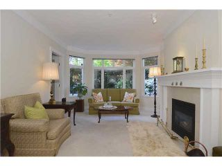 """Photo 3: 114 3188 W 41ST Avenue in Vancouver: Kerrisdale Condo for sale in """"THE LANESBOROUGH"""" (Vancouver West)  : MLS®# V1063940"""