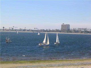 Photo 1: PACIFIC BEACH Condo for sale : 1 bedrooms : 3802 Riviera #1