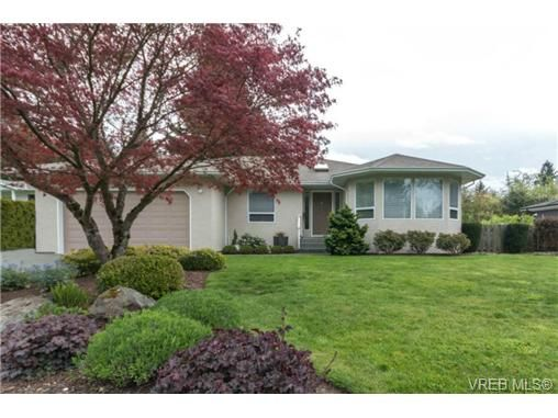 Main Photo: 6247 Rodolph Rd in VICTORIA: CS Tanner House for sale (Central Saanich)  : MLS®# 728007