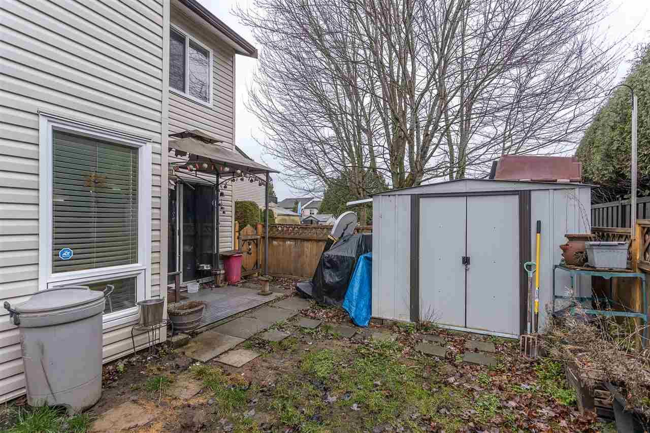 """Photo 28: Photos: 134 2844 273 Street in Langley: Aldergrove Langley Townhouse for sale in """"CHELSEA COURT"""" : MLS®# R2522030"""
