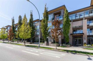 """Photo 1: 215 55 EIGHTH Avenue in New Westminster: GlenBrooke North Condo for sale in """"EIGHTWEST"""" : MLS®# R2457550"""
