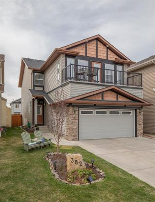 Main Photo: 382 Chaparral Ridge Circle SE in Calgary: Chaparral Detached for sale : MLS®# A1103038