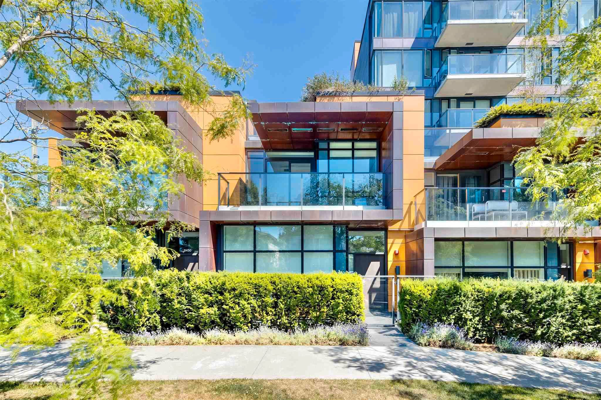 Main Photo: 8460 CORNISH STREET in Vancouver: S.W. Marine Townhouse for sale (Vancouver West)  : MLS®# R2621412