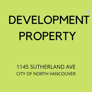 Photo 1: 1145 SUTHERLAND Avenue in North Vancouver: Boulevard House for sale : MLS®# R2476708