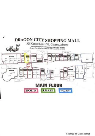 Photo 1: 122 328 Centre Street SE in Calgary: Chinatown Retail for sale : MLS®# A1137317