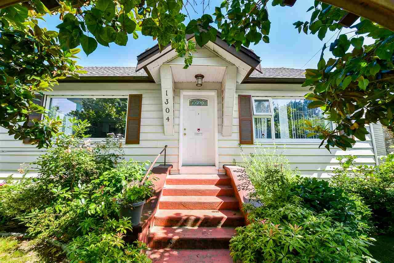 Main Photo: 1304 EIGHTH Avenue in New Westminster: West End NW House for sale : MLS®# R2476791