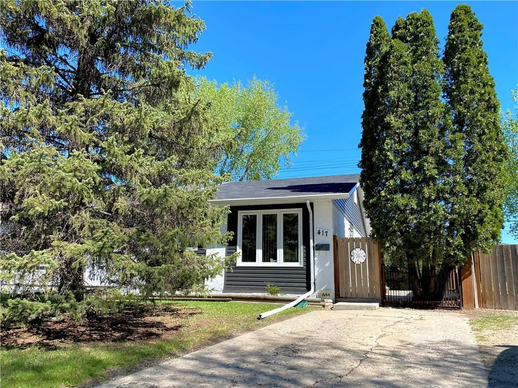 Main Photo: 417 Dowling Avenue East in Winnipeg: East Transcona Residential for sale (3M)  : MLS®# 202113478