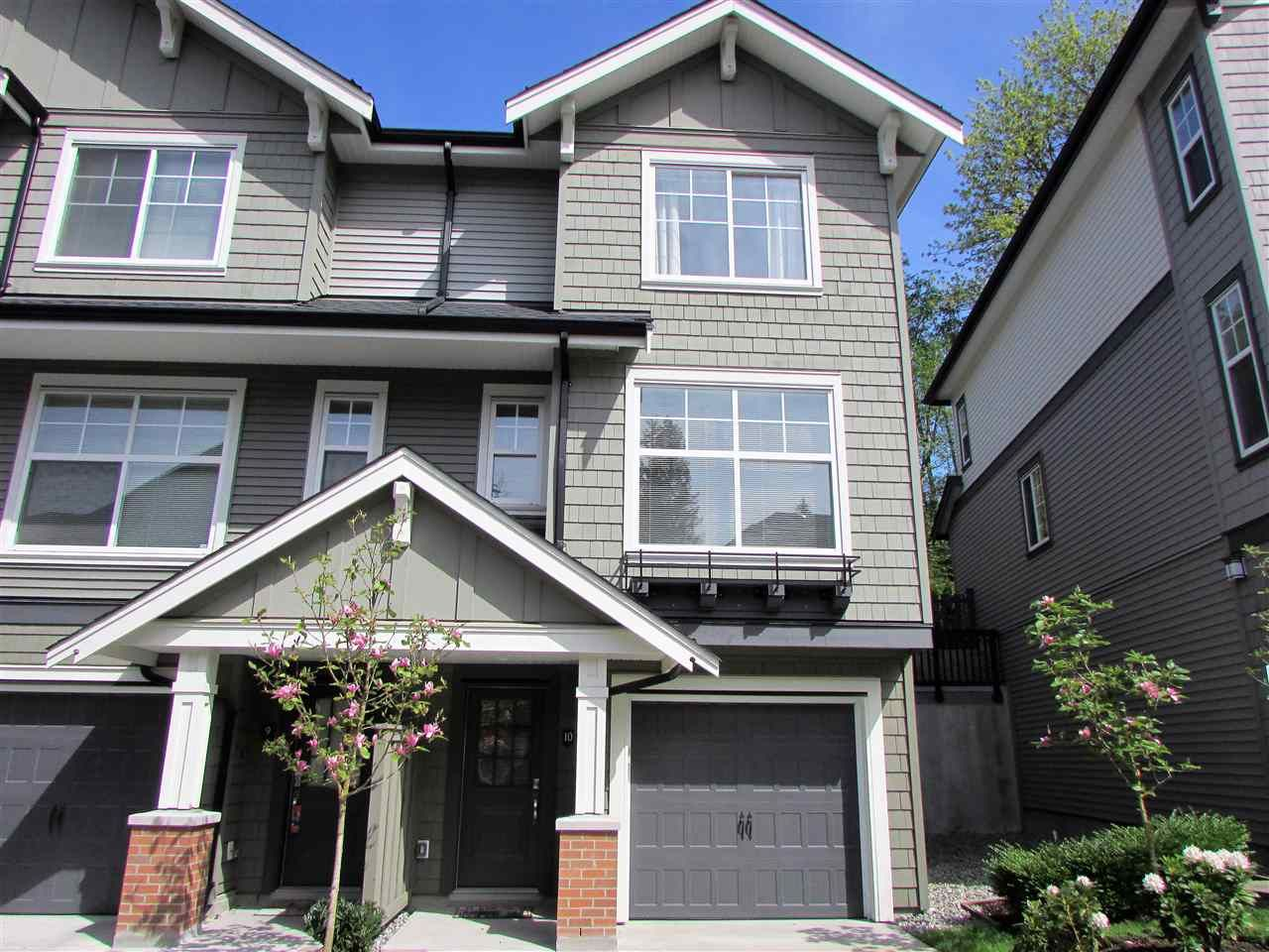 "Main Photo: 10 3470 HIGHLAND Drive in Coquitlam: Burke Mountain Townhouse for sale in ""BRIDLEWOOD"" : MLS®# R2164105"
