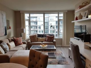 "Photo 3: 708 77 WALTER HARDWICK Avenue in Vancouver: False Creek Condo for sale in ""KAYAK"" (Vancouver West)  : MLS®# R2535395"