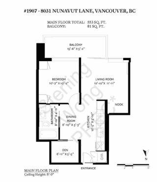 Photo 16: 1907 8031 NUNAVUT LANE in Vancouver: Marpole Condo for sale (Vancouver West)  : MLS®# R2605838