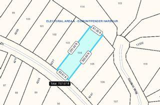 "Photo 9: Lot 104 JOHNSTON HEIGHTS Drive in Pender Harbour: Pender Harbour Egmont Land for sale in ""Daniel Point"" (Sunshine Coast)  : MLS®# R2339002"