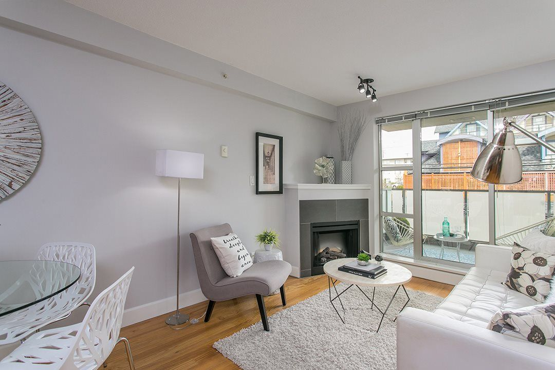 """Main Photo: 411 3811 HASTINGS Street in Burnaby: Vancouver Heights Condo for sale in """"MONDEO"""" (Burnaby North)  : MLS®# R2156944"""