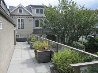 """Photo 8: 1167 W 8TH Avenue in Vancouver: Fairview VW Townhouse for sale in """"FAIRVIEW 2"""" (Vancouver West)  : MLS®# V849137"""