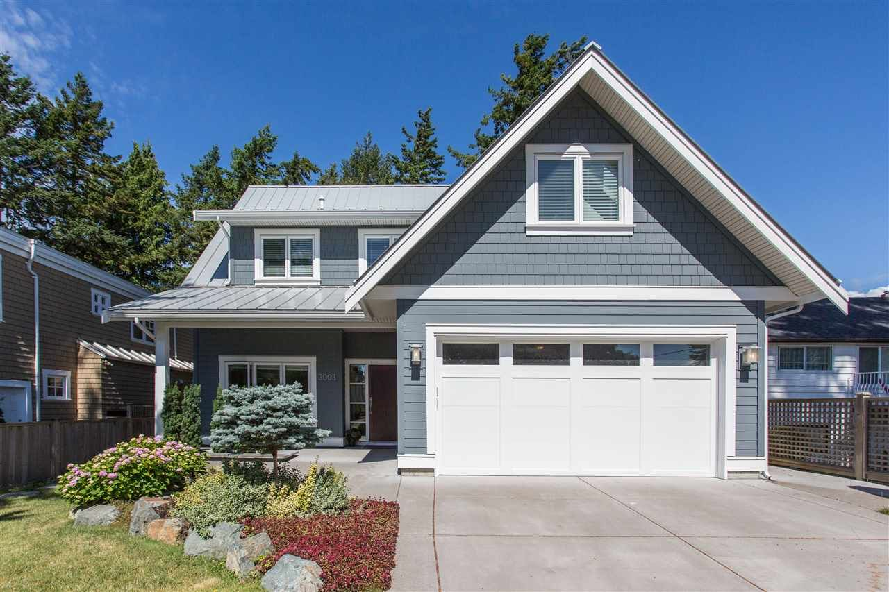 Main Photo: 3003 MCBRIDE Avenue in Surrey: Crescent Bch Ocean Pk. House for sale (South Surrey White Rock)  : MLS®# R2487492