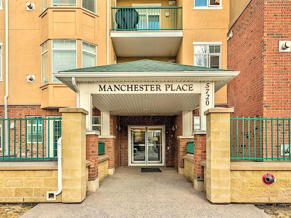 Main Photo: 313 5720 2 Street SW in Calgary: Manchester Apartment for sale : MLS®# A1149610