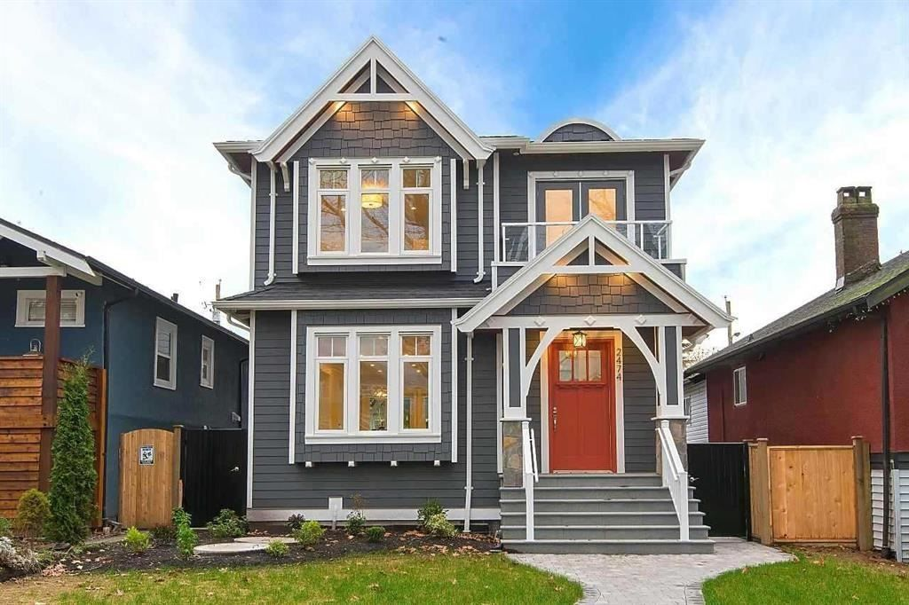 Main Photo: 2474 ETON Street in Vancouver: Hastings Sunrise House for sale (Vancouver East)  : MLS®# R2466309