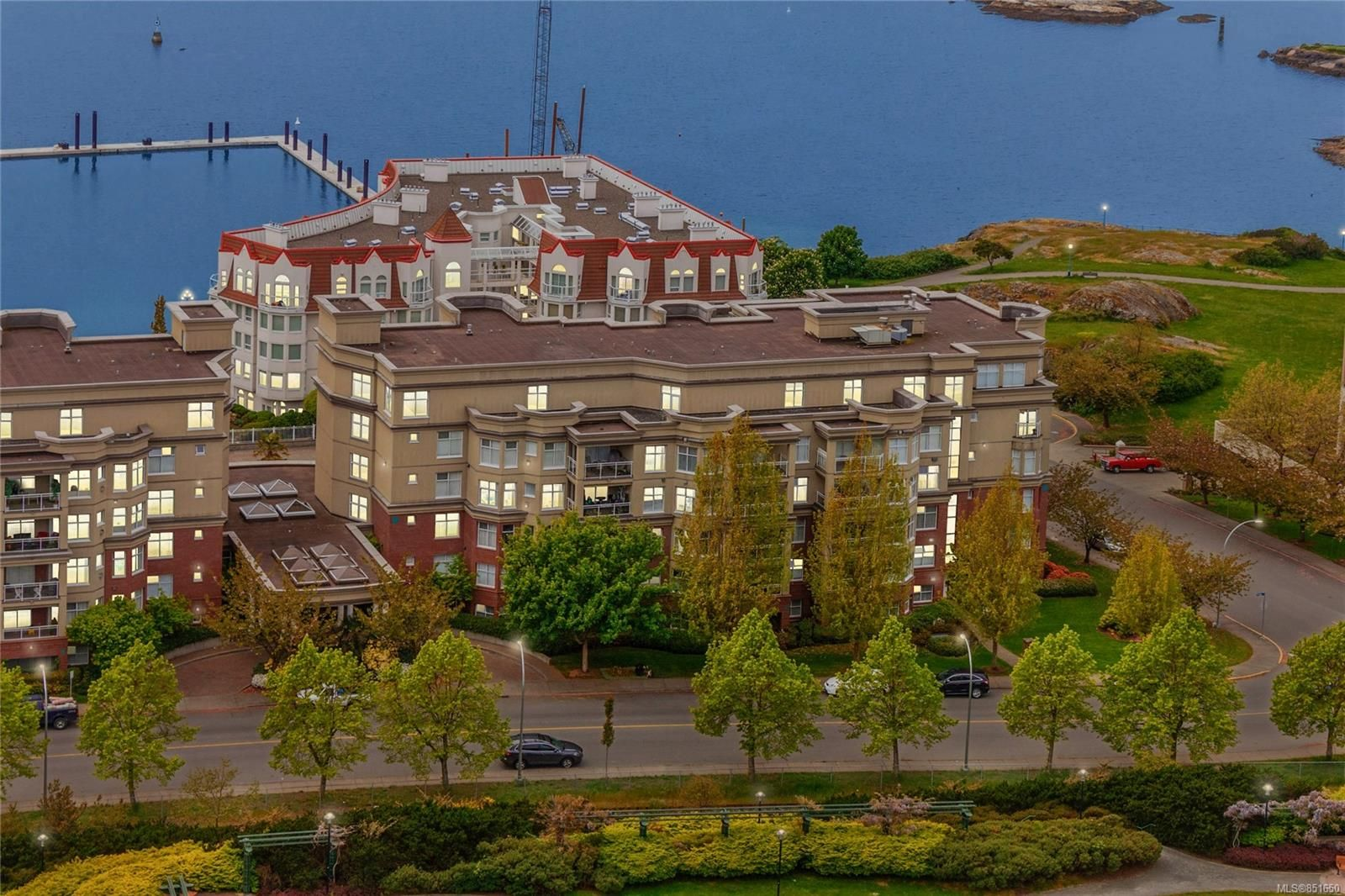 The Legacy is located on the doorstep of Victoria's Inner Harbour.